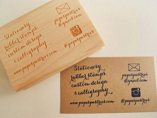 Custom Stamps For Business Cards