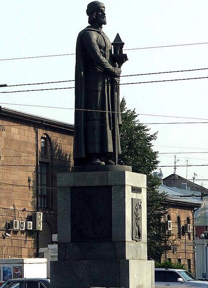 Yaroslav statue