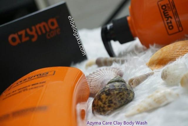 azyma care clay body wash in malaysia, Produk mandian clay keluaran muslim,clay body wash, Mandian clay dapat selesaikan masalah kulit