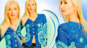 Cómo tejer una Chaqueta con Mandalas Crochet