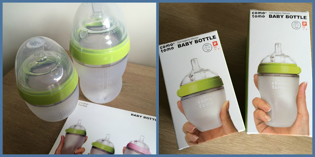 silicone Baby bottles from Como Tomo