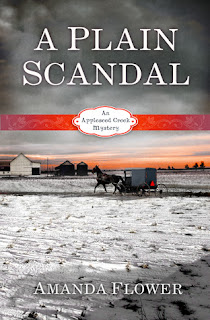 Review - A Plain Scandal by Amanda Flower