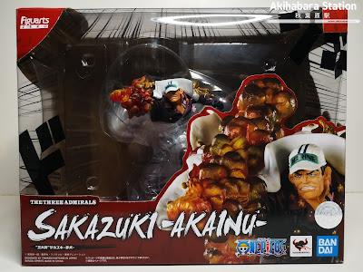 Review de Figuarts ZERO Sakazuki Akainu The Three Admirals - EXTRA BATTLE - de One Piece - Tamashii Nations
