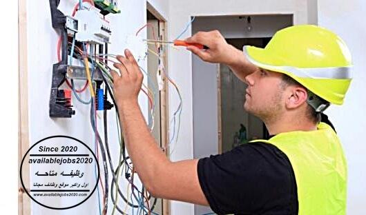 مطلوب فني كهرباء و تركيبات
