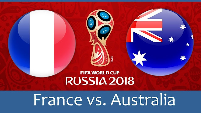 France vs Australia Full Match Replay 16 June 2018