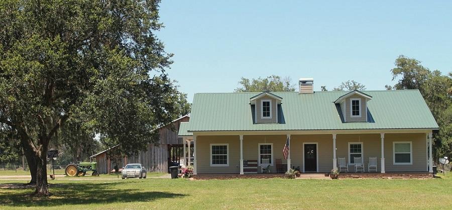 Casas de campo en la County Road 2006