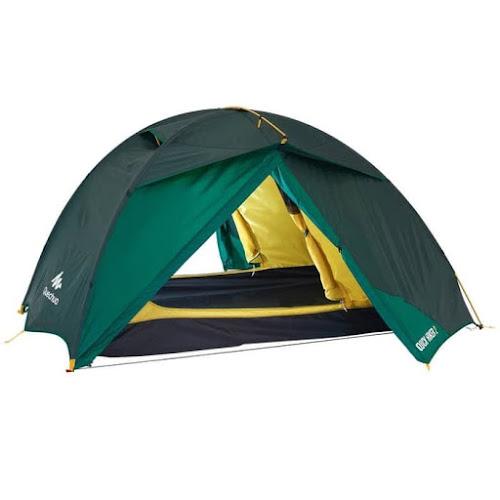 Tenda Quick Pitch hampir mirip dengan Tenda Dome dan memiliki dua pintu