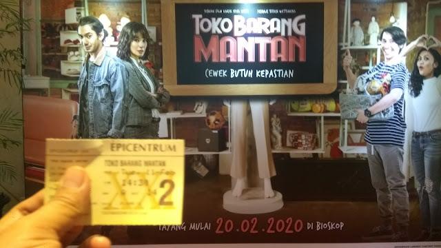 Toko Barang Mantan ditayangkan di bioskop Indoesia mulai 20 Februari 2020 (dok.windhu)