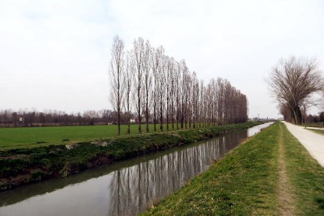 percorso fiume tergola