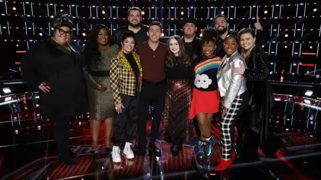 Video Interview: Rose Short and Joana Martinez from Team Gwen talk performing on 'The Voice'