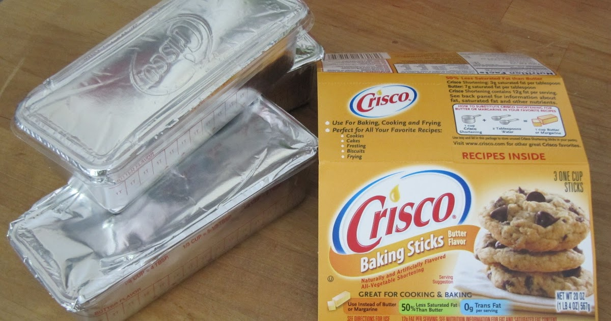 Butter Flavored Crisco Pound Cake