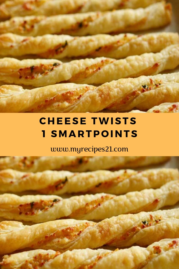 Cheese Twists – 1 SmartPoints #ketogenic #weightwatchers #snack #lowcarb #twists