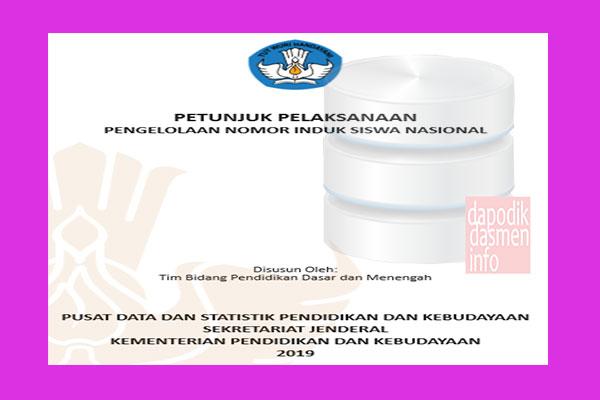 Juklak Pengelolaan NISN 2019, Petunjuk Teknis Pengelolaan Nomor Induk Siswa Nasional (NISN) Tahun 2019, Juklak Juknis NISN, Mekanisme/Cara Pengajuan NISN SD/MI, SMP/MTS, SMA/MA, SMK/MAK