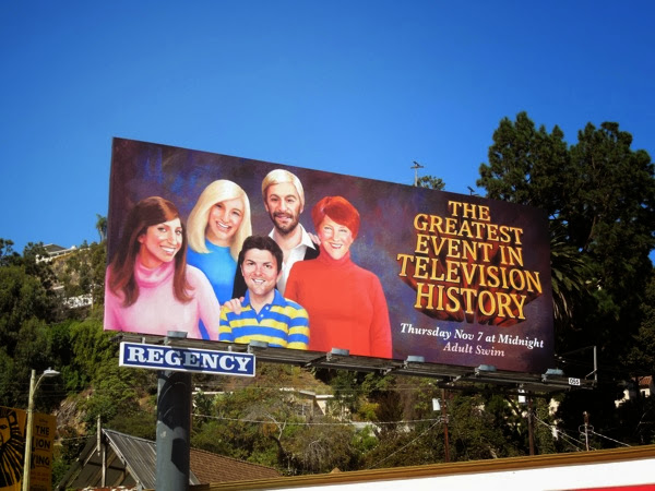 Greatest Event in TV History billboard