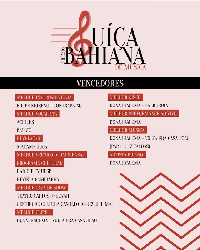 CULTURA   Prêmio Suíça Bahiana divulga vencedores