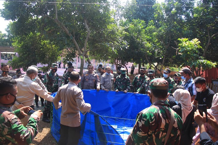 Pelatihan dan Pembekalan Budidaya Ikan Bagi anggota Polres Jember dan Anggota Kodim 0824 Jember