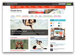 Mesocolumn wordpress free theme
