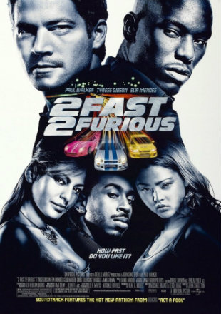 2 Fast & Furious 2 2003 BRRip 720p Dual Audio In Hindi English