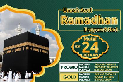 Paket Umroh Awal Ramadhan 2019