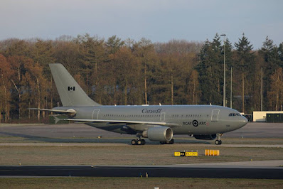 Canadian aircraft Eindhoven Netherlands