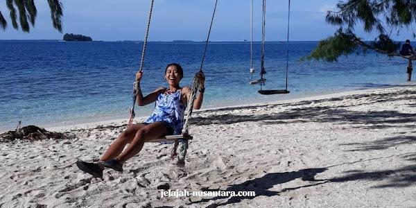 destinasi pulau private trip pulau harapan