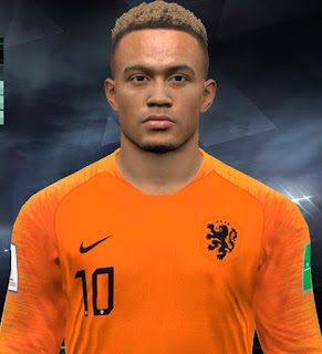 PES 2017 Faces Memphis Depay by Facemaker Huseyn