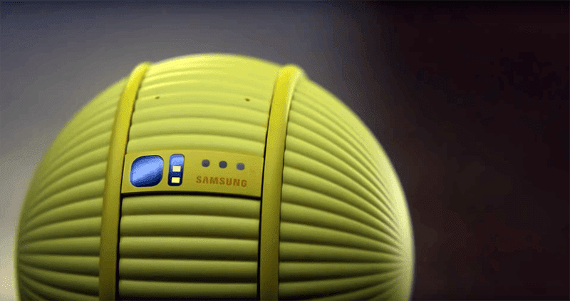 "Real-life BB-8: Samsung announces ""Ballie"" human-like interactive robot!"