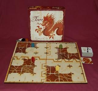 Componentes de Tsuro the board game