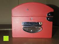 Seite: Adventskalender als piratige rustikale Schatztruhe - 24 einzelnen Schatzboxen - Ideal für den Advent