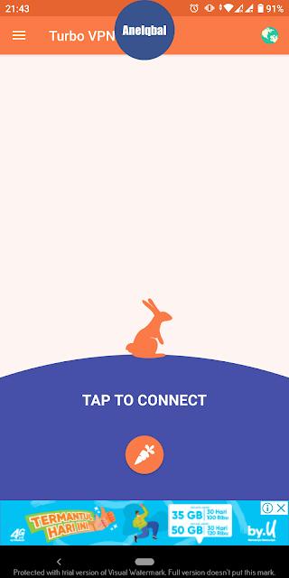 cara menggunakan turbo VPN
