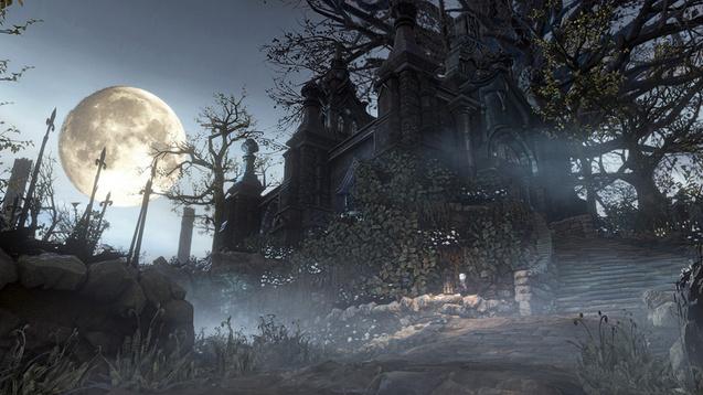 Bloodborne Hunters Dream UE4 Wallpaper Engine