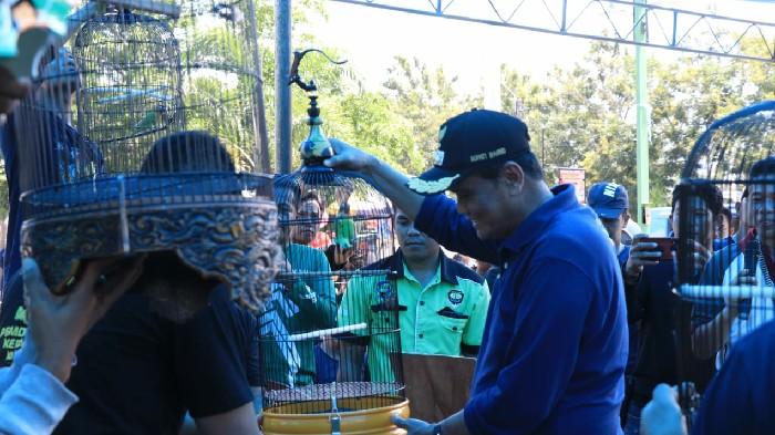 Rangkaian Hari Jadi Barru ke 60, Pecinta Burung Berkicau Turut Berpartisipasi