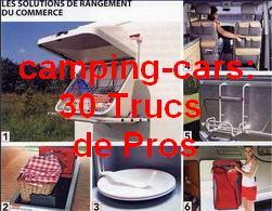 le camping car loisirs bricolage trucs pour les camping caristes r novation du camping car. Black Bedroom Furniture Sets. Home Design Ideas
