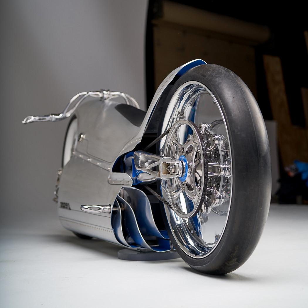 3D printed electric bike