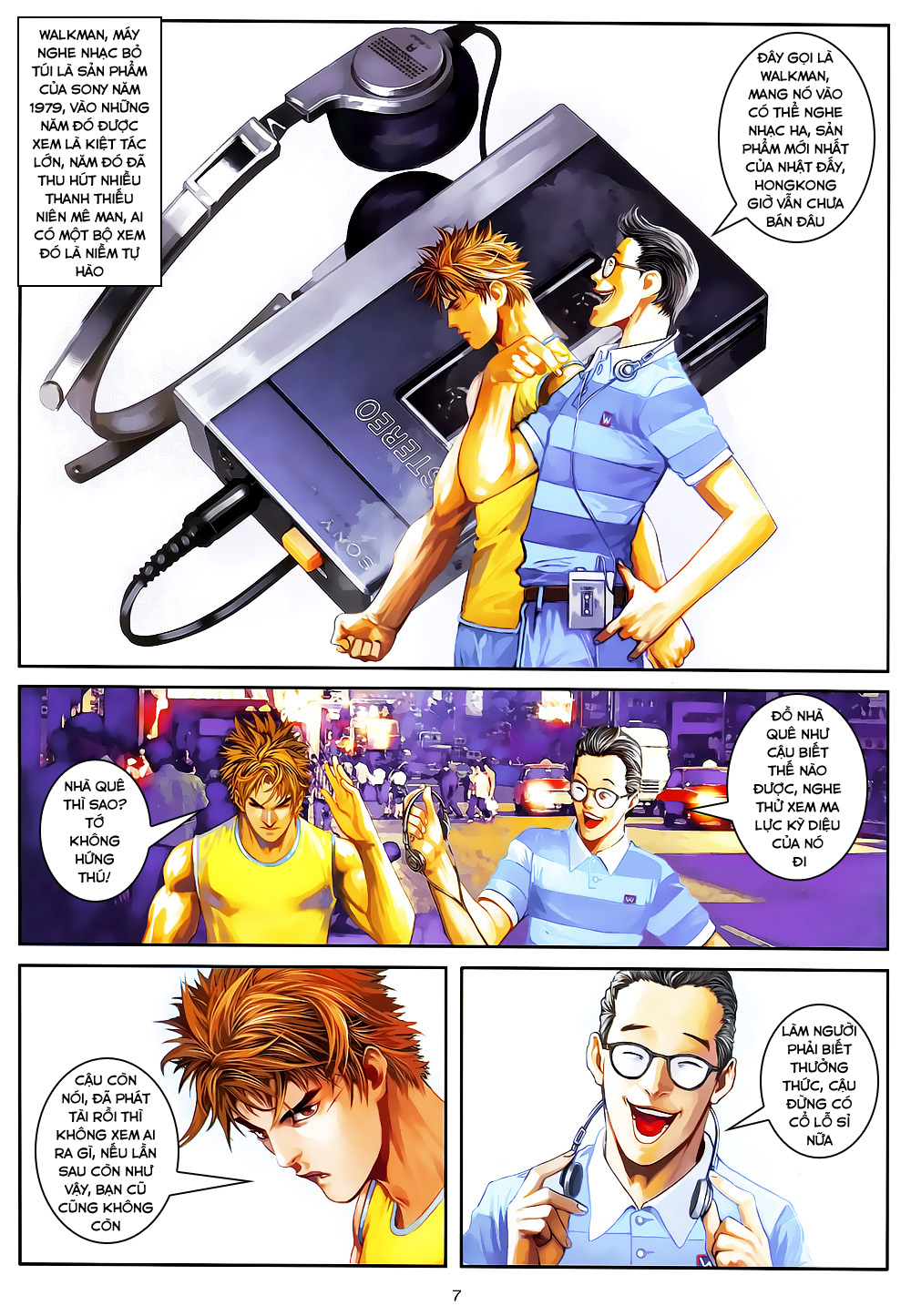 Quyền Đạo chapter 4 trang 7