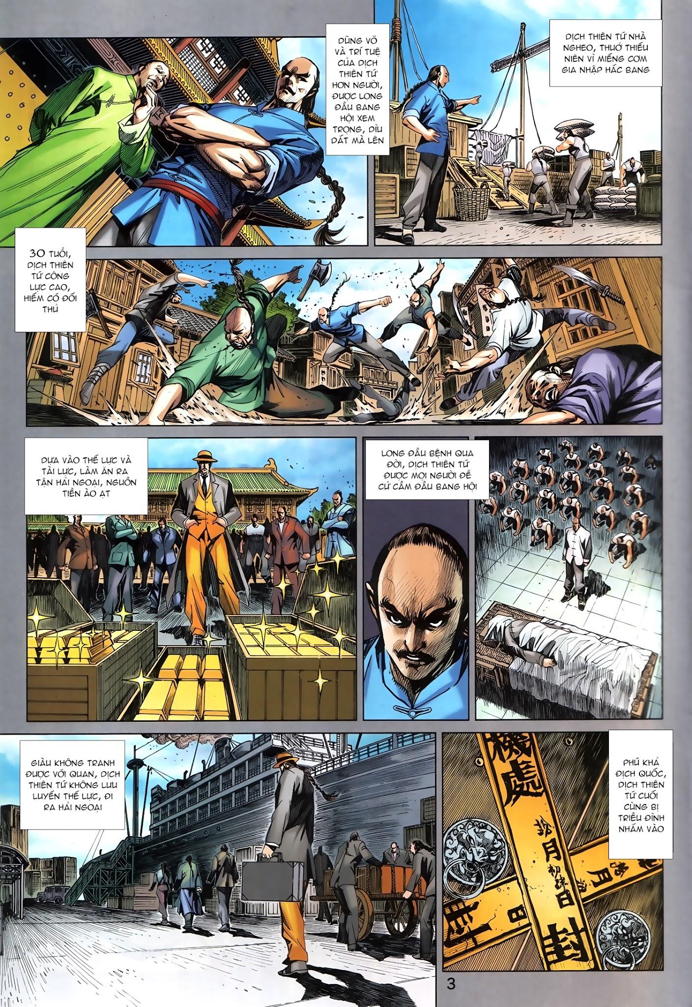 Tân Tác Long Hổ Môn chap 879.1 - Trang 3