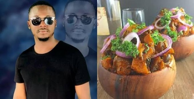 Man recounts how he left his wife during labour to go eat Isi-ewu with his friends
