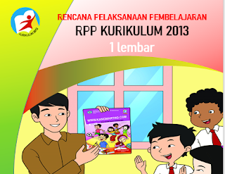 Download RPP 1 Lembar SD Kelas 1
