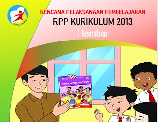 RPP 1 Lembar Kelas 1 Semester 1 dan 2 Revisi 2020
