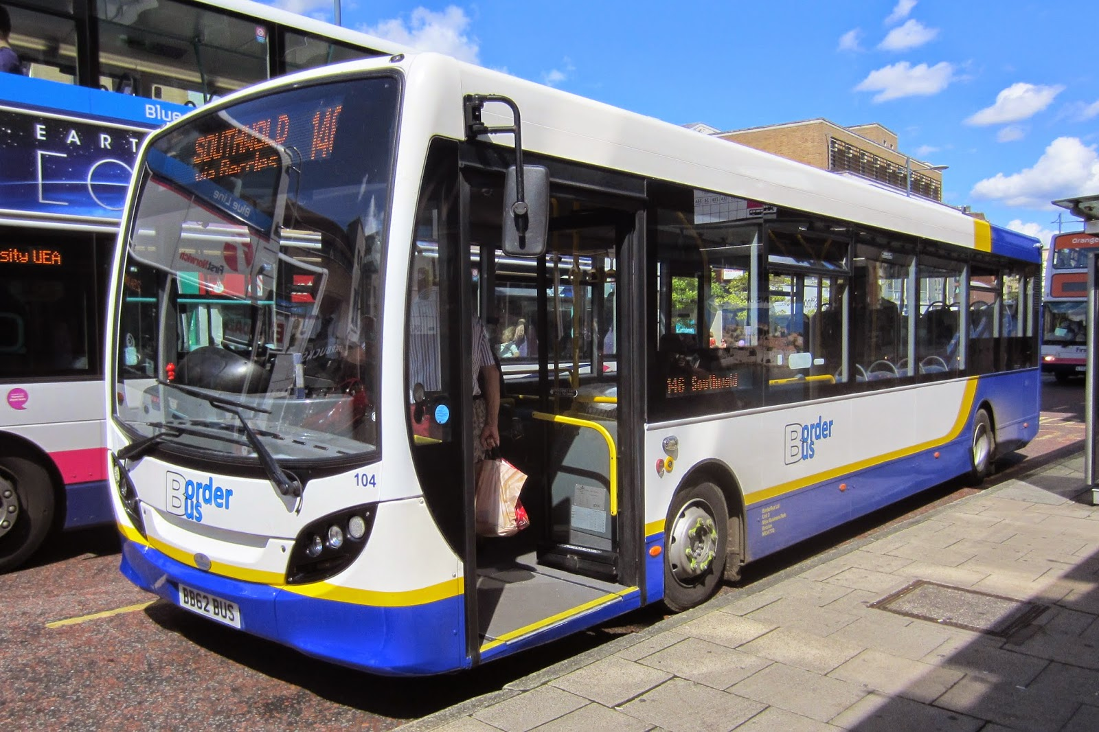 East Norfolk And East Suffolk Bus Blog Norwich Quick Visit