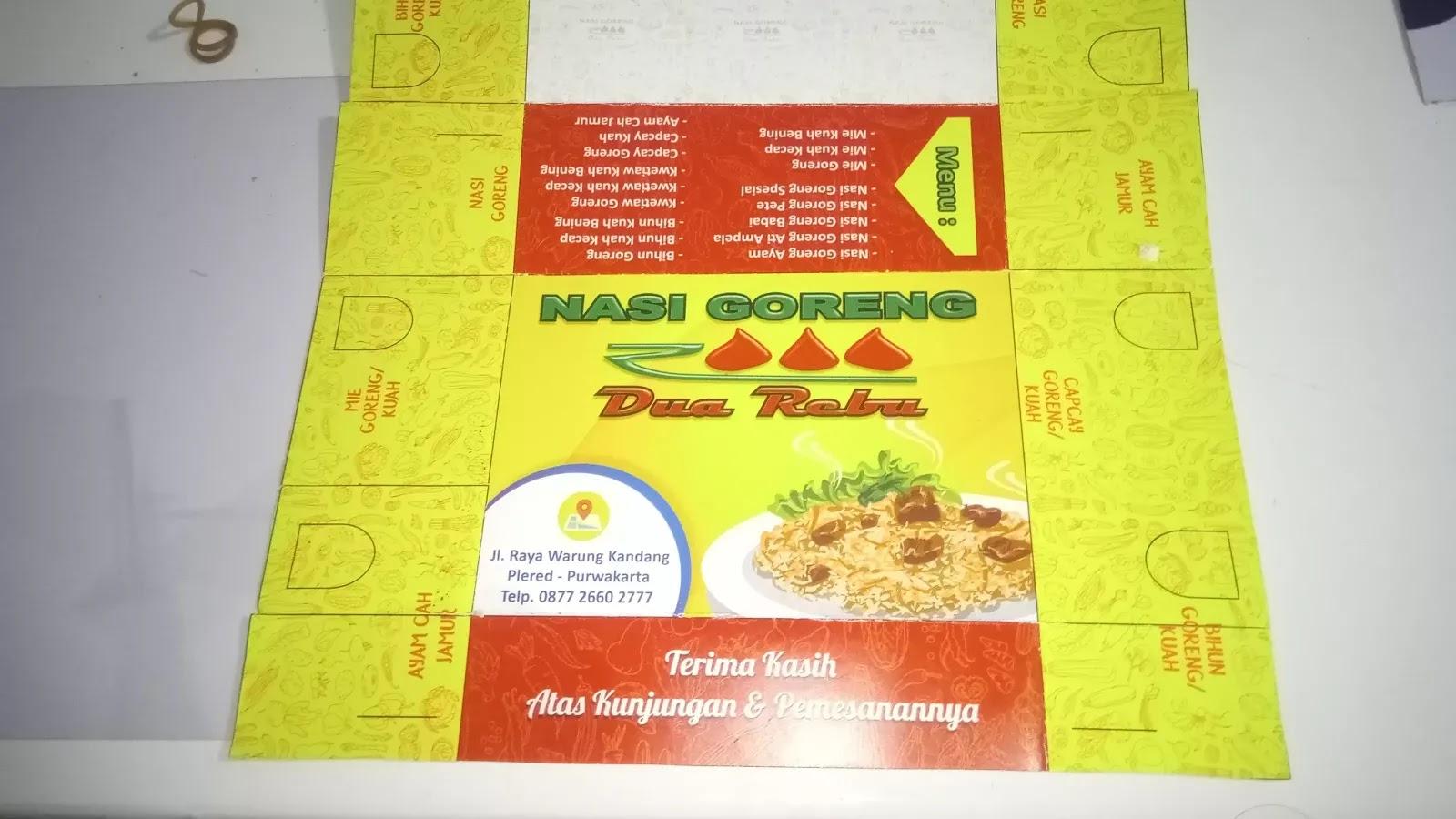 Kotak Elegan untuk Kemasan Makanan