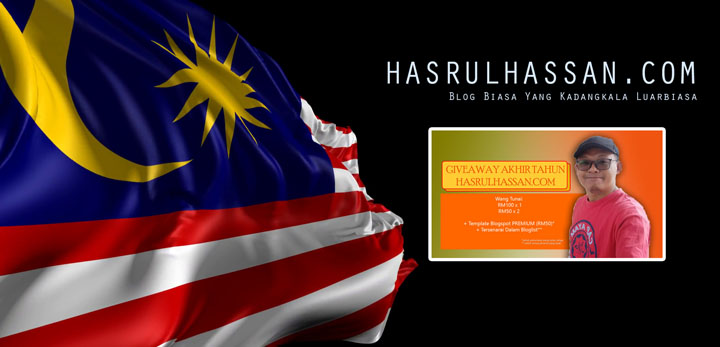 Senarai peserta Giveaway Akhir Tahun HasrulHassan.com 2019