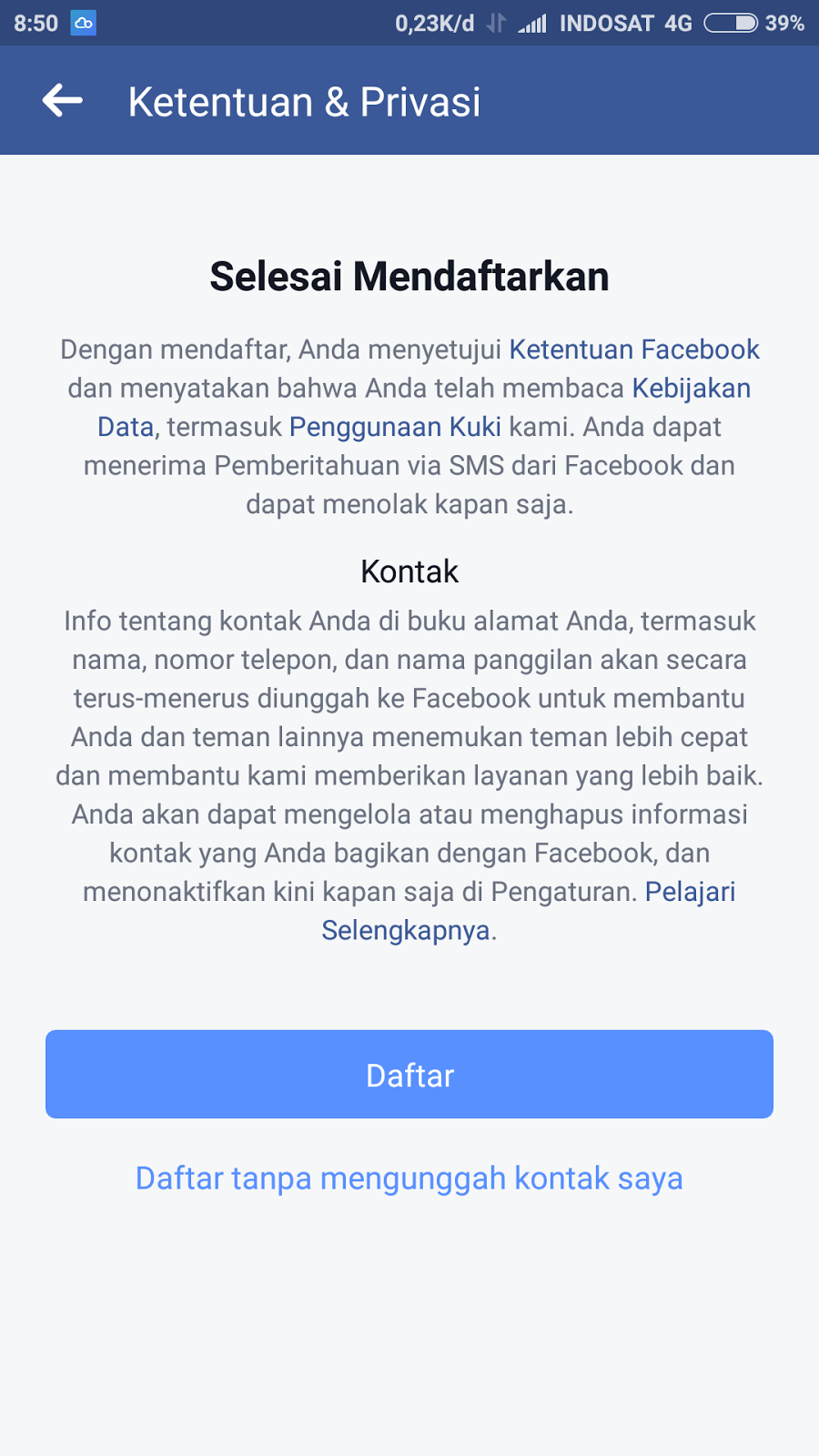 Download facebook freezer untuk hp android