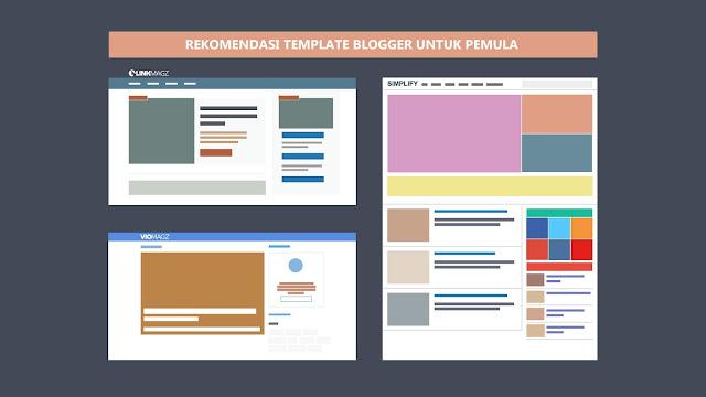 rekomendasi template blogger untuk pemula