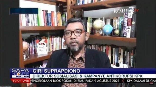 Giri Suprapdiono Curiga Pelemahan KPK Berhubungan dengan Pemilu 2024