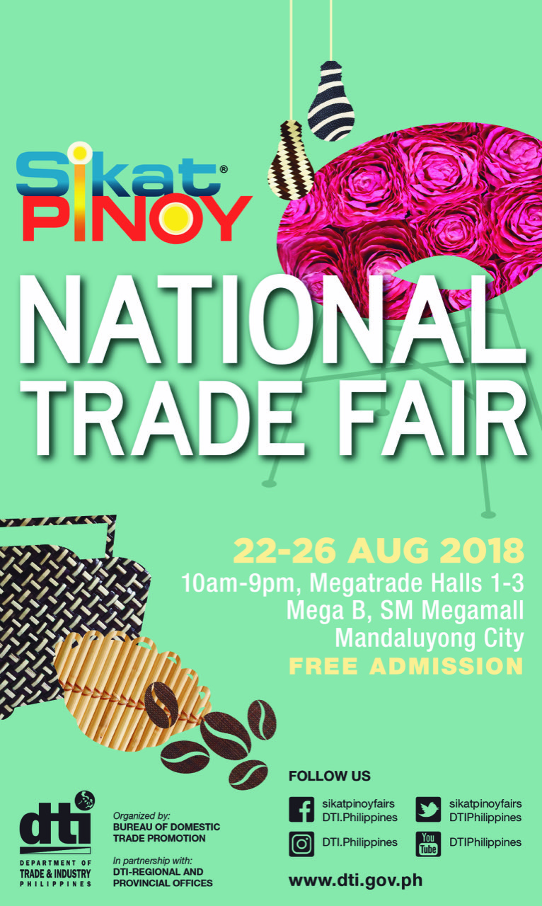 2018 Sikat Pinoy National Trade Fair: Bringing the Best of the Regions to Metro Shoppers