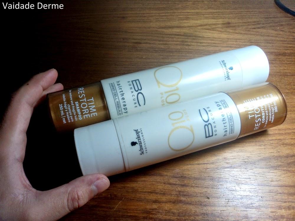 Schwarzkopf BC Bonacure Time Restore Q10 Shampoo e Condicionador