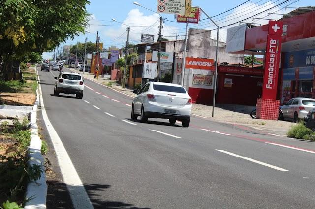 Serviços de recapeamento avançam nas principais avenidas de Natal