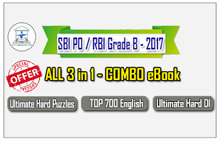 SBI PO Mains / RBI Grade B 2017 – ALL 3 in 1 COMBO eBook Based on New Pattern with Detailed Explanation – Download in PDF