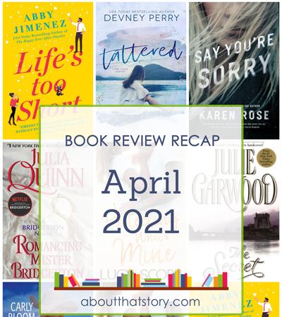 Book Review Recap April 2021